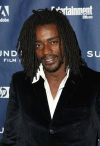 Seu Jorge at the premiere of