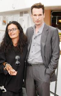 Mary McGuckian and Michael Eklund at the photocall of