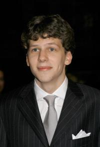 Jesse Eisenberg at the premiere of