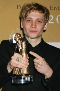 Matthias Schweighofer at the Diva Awards 2006.