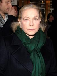 Lauren Bacall at the Robert Altman Memorial.