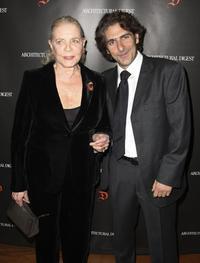 Lauren Bacall and Michael Imperioli at the