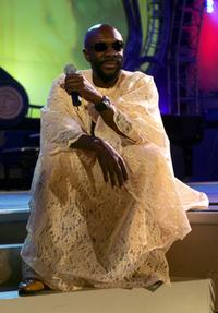Isaac Hayes at the Church of Scientology Celebrity Centre 36th Anniversary Gala.