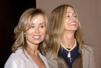 Barbara Bach and her sister Marjorie at the gala screening of