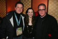 John Heard, Ryan Harper and Heather McComb at the premiere party for
