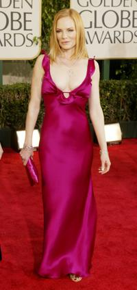 Marg Helgenberger at the 61st Annual Golden Globe Awards.