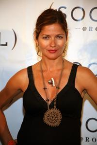 Jill Hennessy at the Hampton Social at Ross Concert by James Taylor.