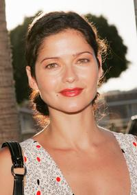 Jill Hennessy at the premiere of