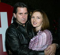 Anthony LaPaglia and Svetlana Efremova at the after party of