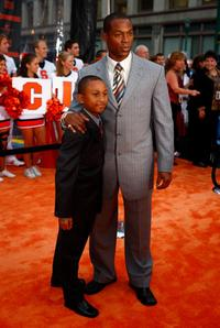 Darrin Dewitt Henson and Guest at the world premiere of