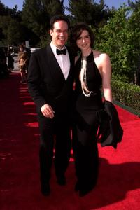 Diedrich Bader and his wife Dulcy at the 15th Annual American Comedy Awards.