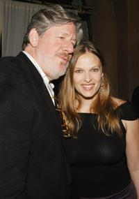 Edward Herrmann and Vinessa Shaw at the Showtime's Tribeca Film Festival Bash in New York City.