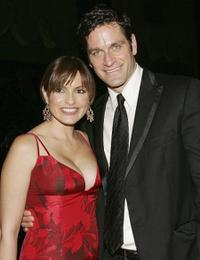 Mariska Hargitay and Peter Hermann at the Fashion Group International's 23rd Annual Night of Stars.