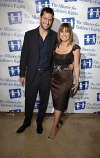 Peter Hermann and Mariska Hargitay at the 13th Annual Children's Rights Awards Gala.