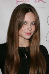 Daveigh Chase at the debut of Jaime Pressly's Spring/Summer 2008 J'aime Collection.