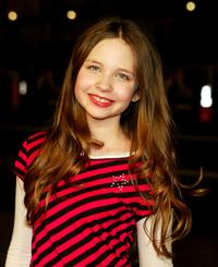 Daveigh Chase at the Los Angeles premiere of