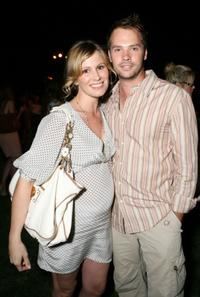 Barry Watson and his wife Tracy Hutson at the 7th annual InStyle Magazine summer soiree.