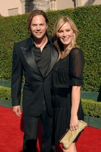 Barry Watson and Tracy Hutson at the 2005 Creative Arts Emmy Awards.