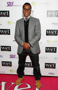 Andre Royo at the LOVE benefit to support WET's 10th season.