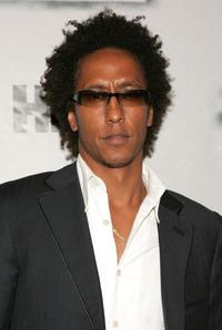 Andre Royo at the premiere of
