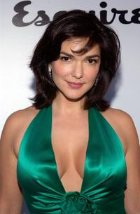 Laura Harring at the Envelope Please APLA/Esquire Magazine Oscar Party.
