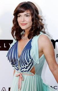 Laura Harring at the American Foundation for AIDS Research during 57th Cannes Film Festival.