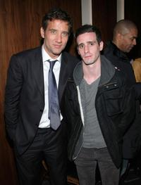 Clive Owen and James Ransone at the after party of the screening of
