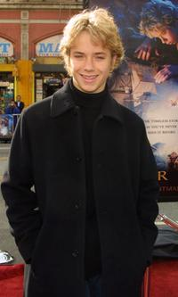Jeremy Sumpter at the premiere of