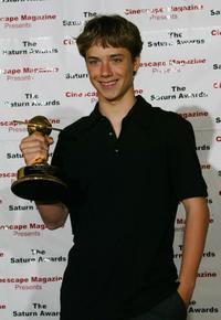 Jeremy Sumpter at the 30th Annual Saturn Awards.