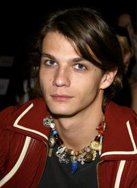 Trent Ford at the Esteban Cortazar fashion show during the Mercedes-Benz Shows LA Spring 2004 Collections.