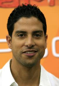 Adam Rodriguez at the CSI Miami 100th Episode Cake Cutting Party.