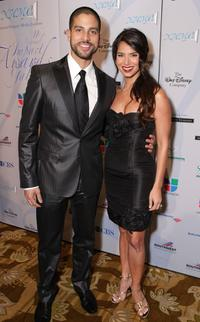 Adam Rodriguez and Roselyn Sanchez at the 11th Annual Impact Awards Gala.