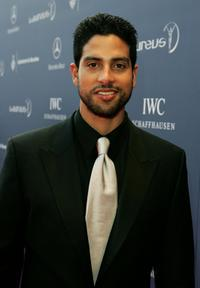 Adam Rodriguez at the Laureus World Sports Awards.