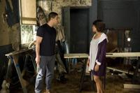Adam Rodriguez as Sandino and Taraji P. Henson as April in
