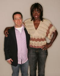Director Matt Tauber and Viola Davis at the 5th Annual Tribeca Film Festival.