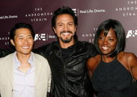 Daniel Dae Kim, Benjamin Bratt and Viola Davis at the premiere of