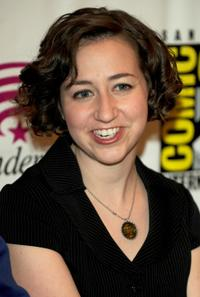 Kristen Schaal at the Walt Disney Studios Wondercon 2010 Presentation.