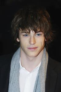 Gaspard Ulliel at the premiere of