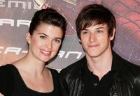 Cecile Cassel and Gaspard Ulliel at the premiere of
