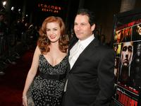 Isla Fisher and Director Scott Frank at the premiere of