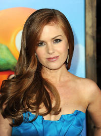 Isla Fisher at the California premiere of
