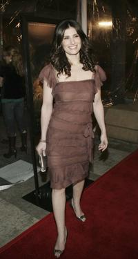 Idina Menzel at the premiere of