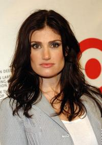 Idina Menzel at the