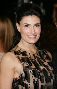 Idina Menzel at the Vanity Fair Oscar Party.