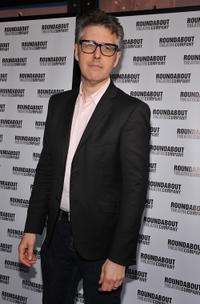 Ira Glass at the Broadway opening night of