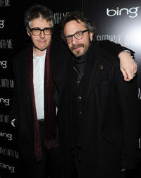 Ira Glass and Dennis Boutsikaris at the official cast after party of