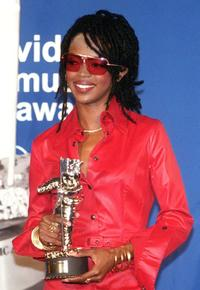 Lauryn Hill at the MTV Music Video Awards.