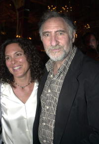 Judd Hirsch and his wife Bonnie at the after party of the play