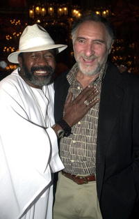Judd Hirsch and Ben Vereen at the after party of the play