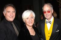 Judd Hirsch, Olympia Dukakis and Aldon James at the National Arts Club celebration honoring Olympia Dukakis.